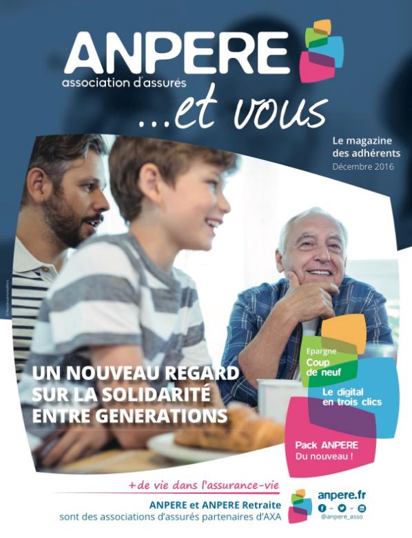 Accéder au magazine ANPERE & vous... N°5
