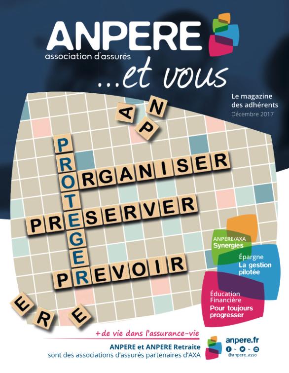 Accéder au magazine ANPERE & vous... N°6
